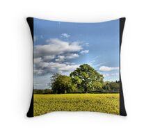 English Oak Throw Pillow