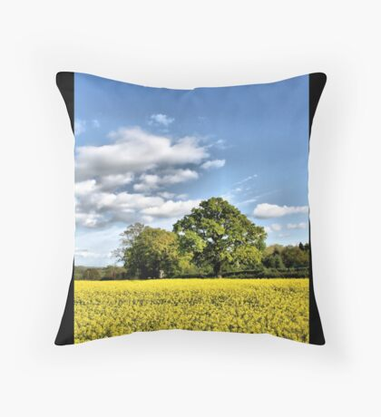 English Oak Throw Pillow