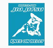 Brazilian Jiu Jitsu Knee On Belly Blue T-Shirt