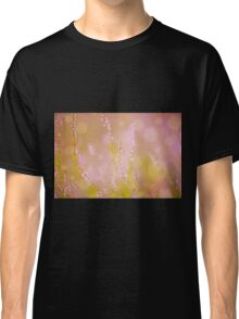 Subtle pink heather macro Classic T-Shirt