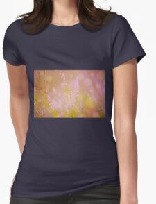 Subtle pink heather macro Womens T-Shirt
