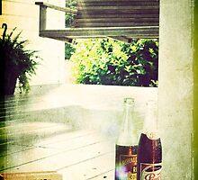 Vintage image of Southern front porch by Jennifer Westmoreland