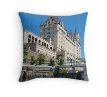 Ottawa Locks Throw Pillow