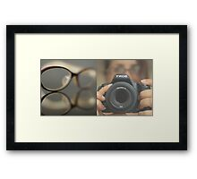 Guess who got new peepers? Framed Print