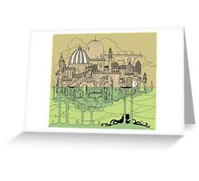 City in Water Greeting Card