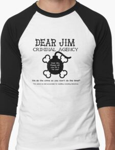 Dear Jim Men's Baseball ¾ T-Shirt