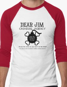 Dear Jim Men's Baseball ¾ T-Shirt