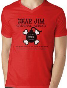 Dear Jim Mens V-Neck T-Shirt