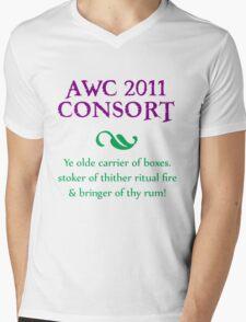 AWC 2011 Consort Mens V-Neck T-Shirt