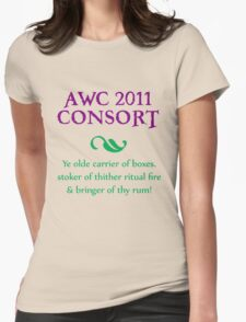 AWC 2011 Consort Womens Fitted T-Shirt