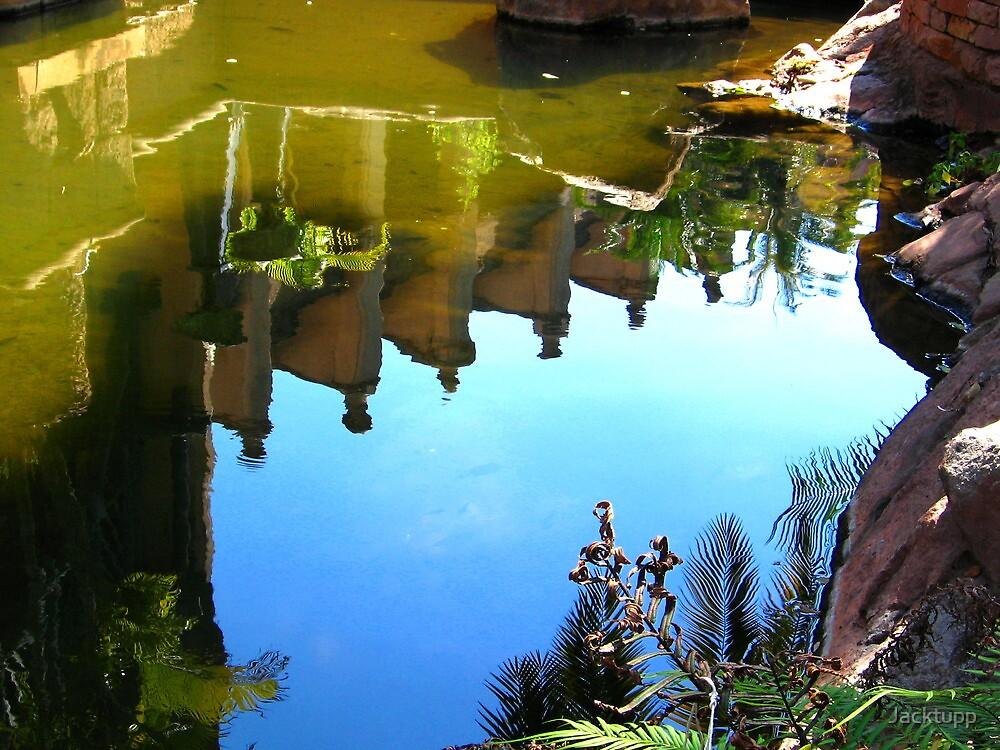 Reflections at the Kingdom by Jacktupp