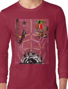 IMMORTAN JOE CHEST ARMOR  HALLOWEEN COSTUME MAD MAX Long Sleeve T-Shirt