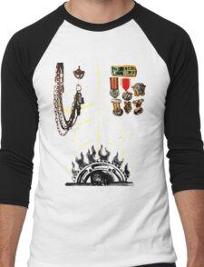 IMMORTAN JOE CHEST ARMOR  HALLOWEEN COSTUME MAD MAX Men's Baseball ¾ T-Shirt