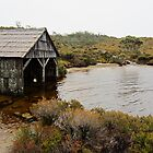 Dove Lake Boat House by Mark B Williams