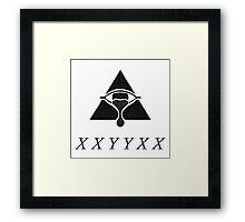 XXYYXX Framed Print
