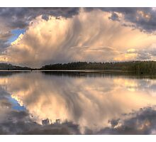Brush Stroke - Narrabeen Lakes,Sydney - The HDR Experience Photographic Print