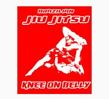 Brazilian Jiu Jitsu Knee On Belly Red  Unisex T-Shirt