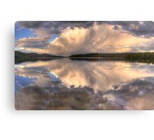 Sunset Abstract - Narrabeen Lakes, Sydney Australia - The HDR Experience Canvas Print