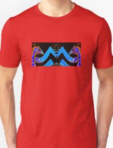 Blue and Gold Dragon Tee T-Shirt