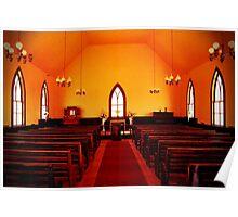 Church Inside Poster