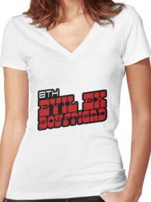 Scott Pilgrim - Ramona's 8th Evil Ex Boyfriend Women's Fitted V-Neck T-Shirt