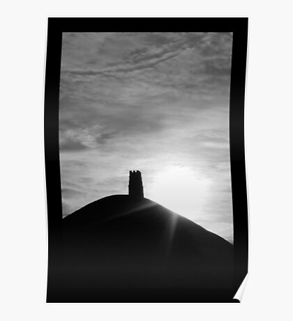 Glastonbury Tor Poster