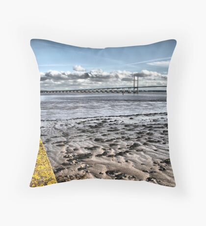 Second Severn Crossing Throw Pillow