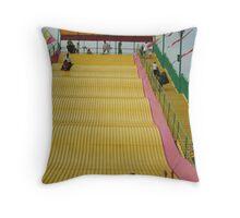 the BIG slide Throw Pillow