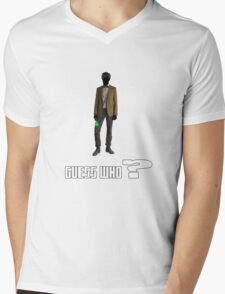 Guess who? Mens V-Neck T-Shirt