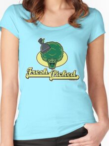 Fresh Picked Broccoli Women's Fitted Scoop T-Shirt