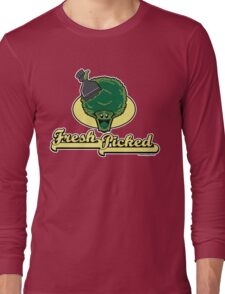 Fresh Picked Broccoli Long Sleeve T-Shirt