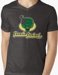 Fresh Picked Broccoli Mens V-Neck T-Shirt