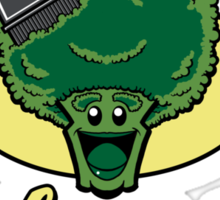 Fresh Picked Broccoli Sticker