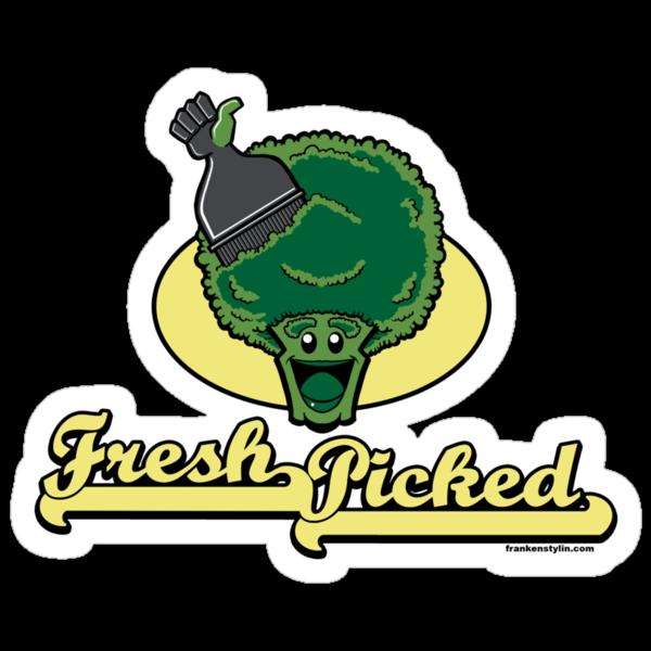 Fresh Picked Broccoli by Frankenstylin