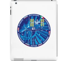 Expedition 37 Mission Patch iPad Case/Skin