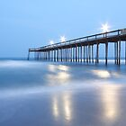 Pier at Dusk, Ocean City Md by RPAspey