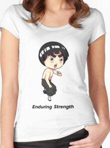 Enduring Strength Women's Fitted Scoop T-Shirt