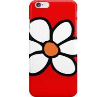 Hippie flower cartoon iPhone Case/Skin
