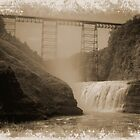Old Trestle, Letchworth State Park by RPAspey