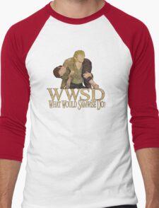 WWSD - What Would Samwise Do? Men's Baseball ¾ T-Shirt