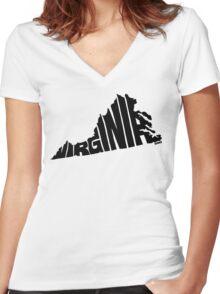 Virginia Women's Fitted V-Neck T-Shirt