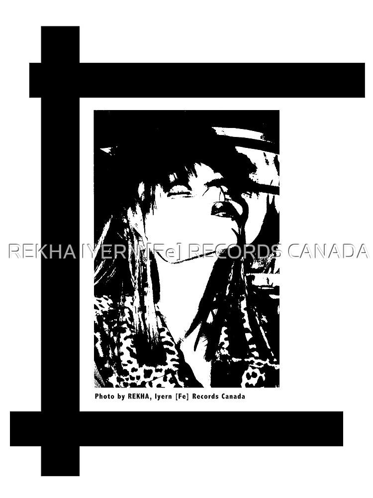 FRAU AUS HAMBURG, BLACK AND WHITE by REKHA Iyern [Fe] Records Canada