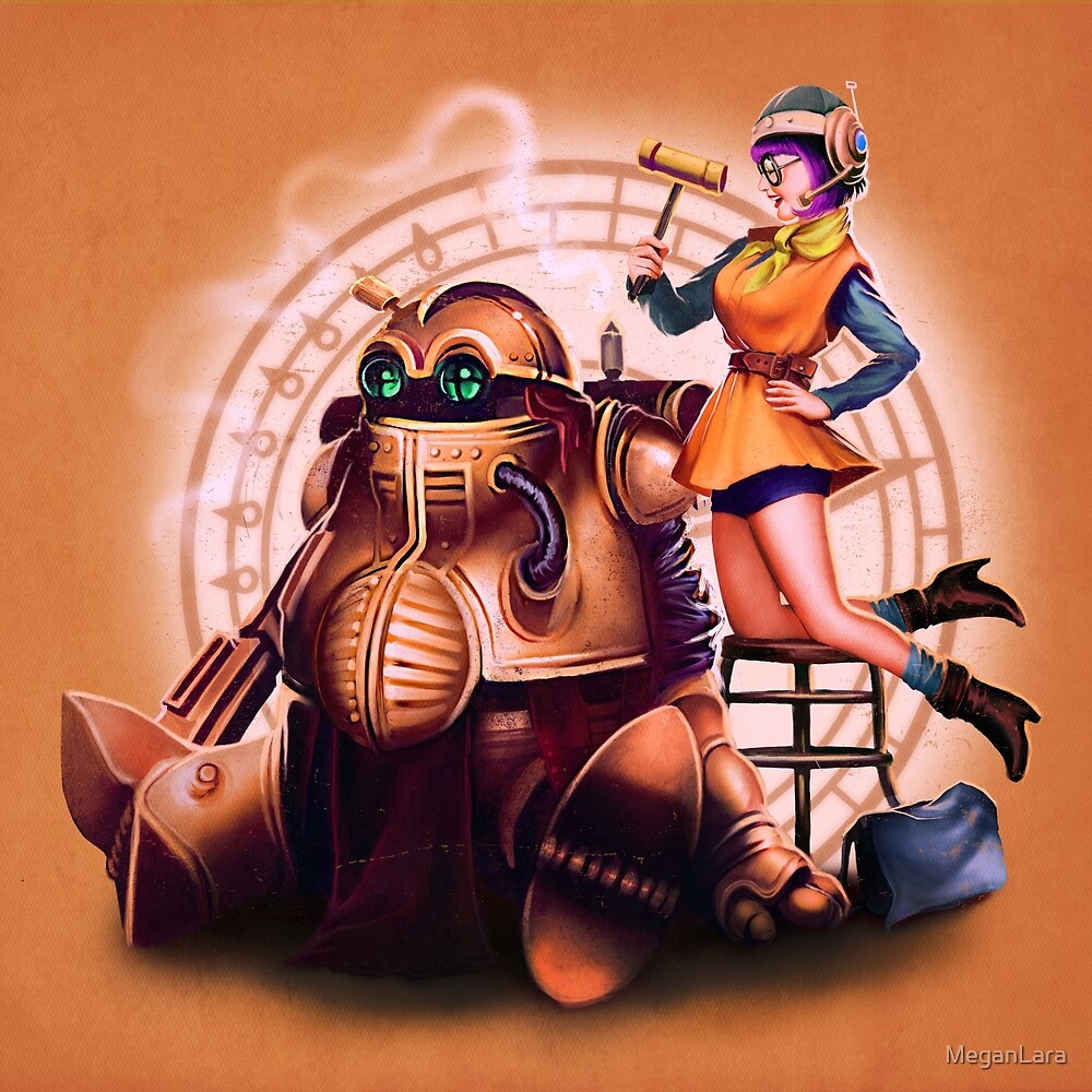 Lucca & Robo by MeganLara