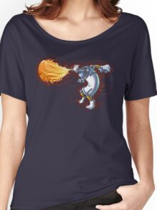 Street Art Fighter 2- Yoga Paint! Women's Relaxed Fit T-Shirt