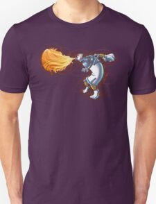 Street Art Fighter 2- Yoga Paint! Unisex T-Shirt