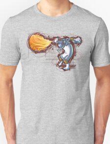 Street Art Fighter 2- Yoga Paint! T-Shirt