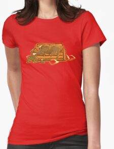 Slow Party Womens Fitted T-Shirt