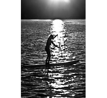 Paddle Boarding Photographic Print