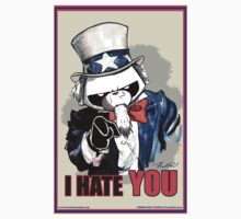 Pissed OFF Panda Uncle Sam by Frankenstylin