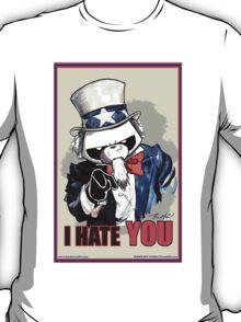 Pissed OFF Panda Uncle Sam T-Shirt